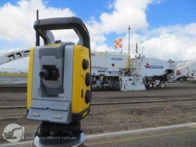 Machine Positioning with Total Stations