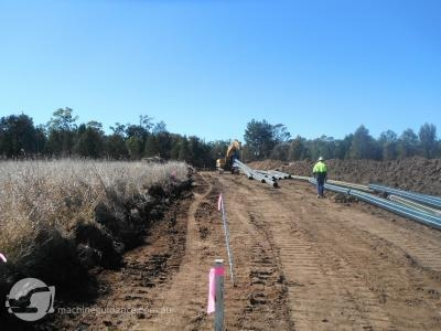 The QCLNG pipeline network gathers and transports natural gas to a liquefaction facility on Curtis Island for export.