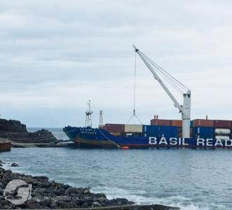 Transporting resources to St Helena