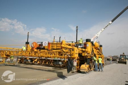 Machine Guided Paving