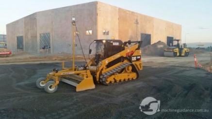 Machine Guidance for Skid Steer 'Level Best' Attachment