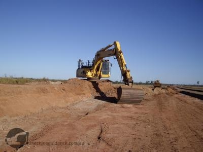 Machine guidance is perfect for bulk earthworks operations.
