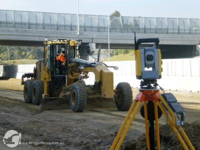 Total station guidance provides +/- 5mm accuracy.