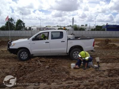 Supervisors can easily record significant locations such as soil tests.