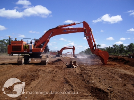 Construction Ramps Up with GPS Excavators