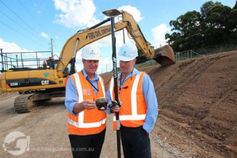 From left to right: Roddie Elder, project manager and Andrew Helwig, operations manager at Ford Civil.