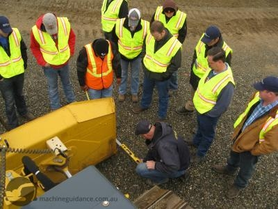 On-site Machine Guidance Training